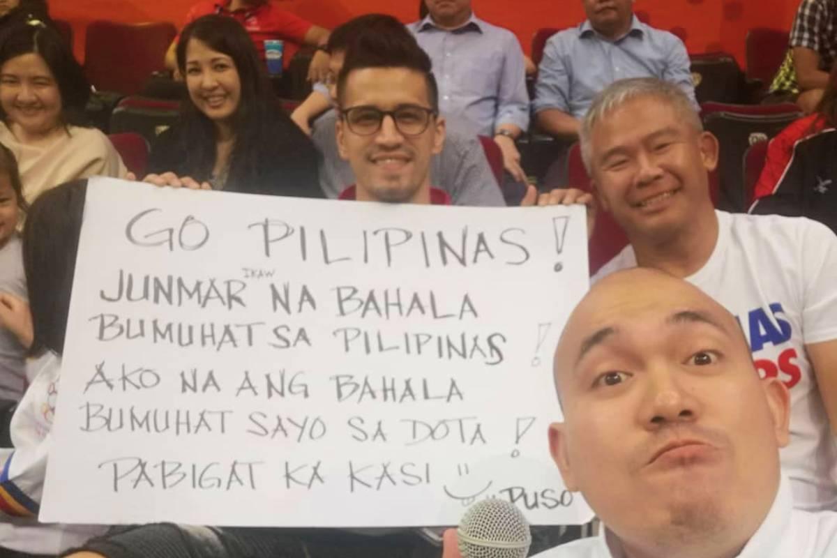 FIBA-Gilas-Pingris-fan-sign-for-Fajardo Fajardo grateful for lessons learned from ka-'Dota Boy' Pingris Basketball News PBA  - philippine sports news