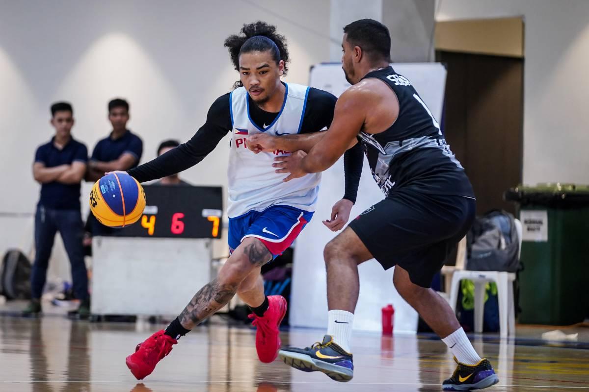 Gilas-3x3-practice-Joshua-Munzon Munzon, Pasaol not sweating adjustments to Gilas 3x3 ahead of OQT 2020 Tokyo Olympics 3x3 Basketball Gilas Pilipinas News  - philippine sports news