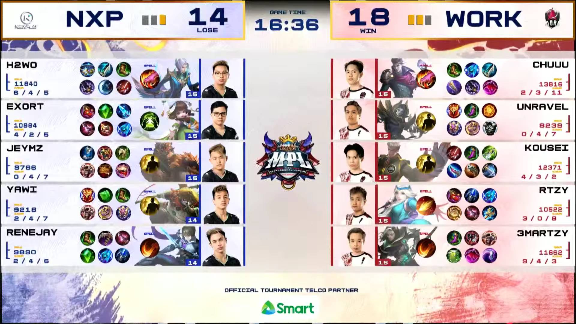 MPL-PH-7-Work-Auster-def-NXP-Game-3 Kousei's Esmeralda takes charge in clincher as Work Auster boots out Nexplay in MPL ESports Mobile Legends MPL-PH News  - philippine sports news