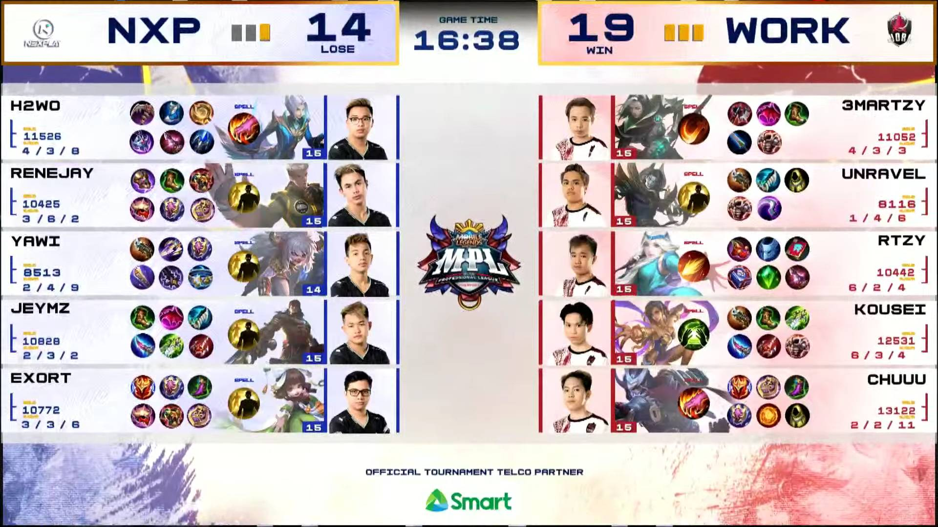 MPL-PH-7-Work-Auster-def-NXP-Game-4 Kousei's Esmeralda takes charge in clincher as Work Auster boots out Nexplay in MPL ESports Mobile Legends MPL-PH News  - philippine sports news