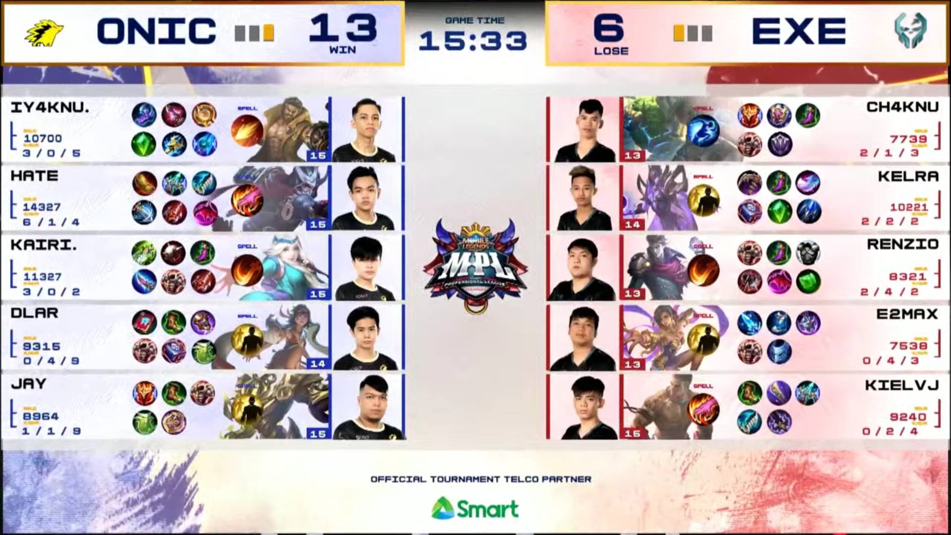 MPL-PH-Season-7-Execration-def-Onic-Game-2 Execration eliminates Hate, ONIC PH in MPL PH playoffs ESports Mobile Legends MPL-PH News  - philippine sports news