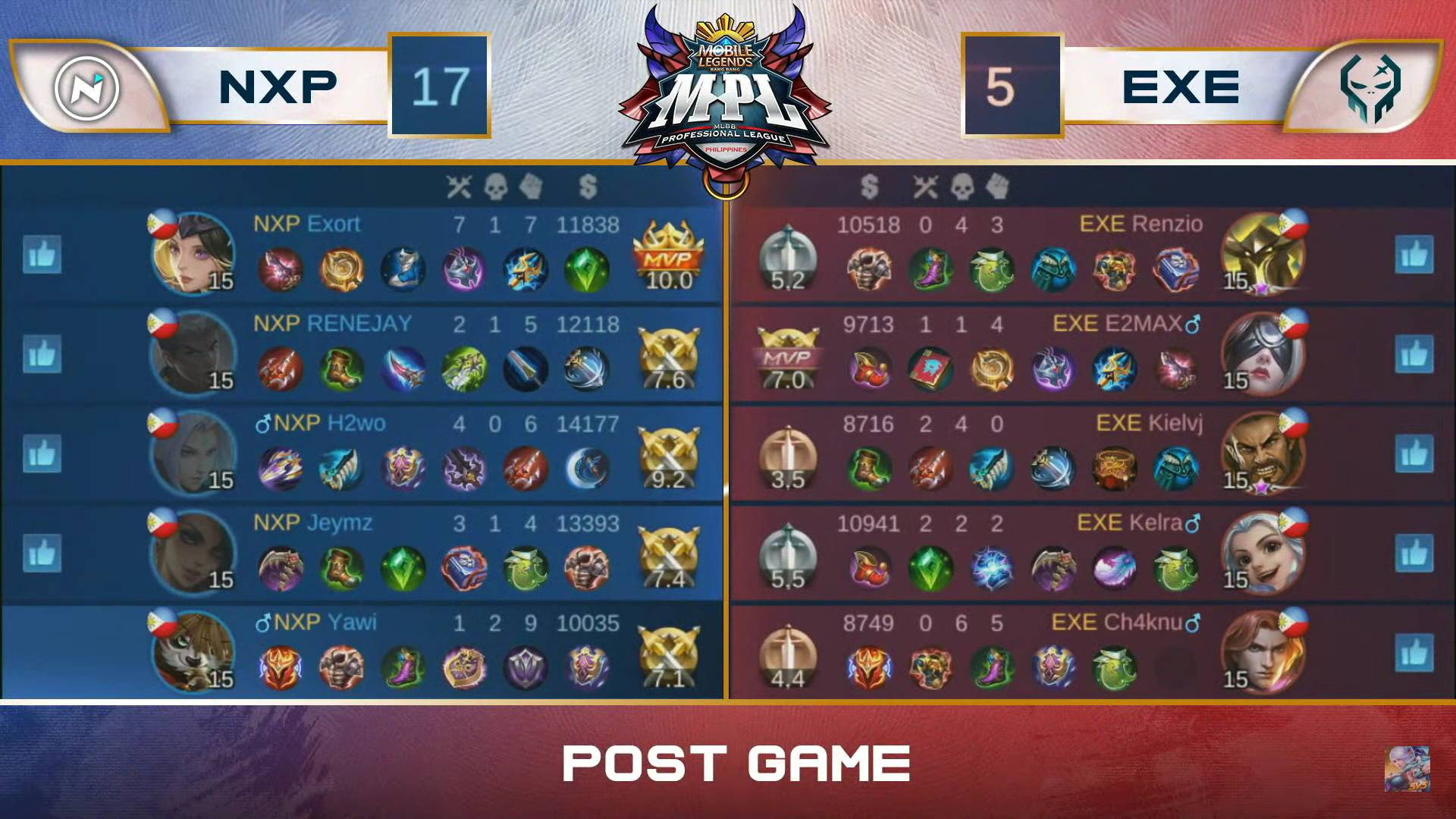 MPL-PH-Season-7-Nexplay-def-Execration-Game-3 Yawi's Akai plays big as Nexplay deals Execration fifth straight loss in MPL PH ESports Mobile Legends MPL-PH News  - philippine sports news