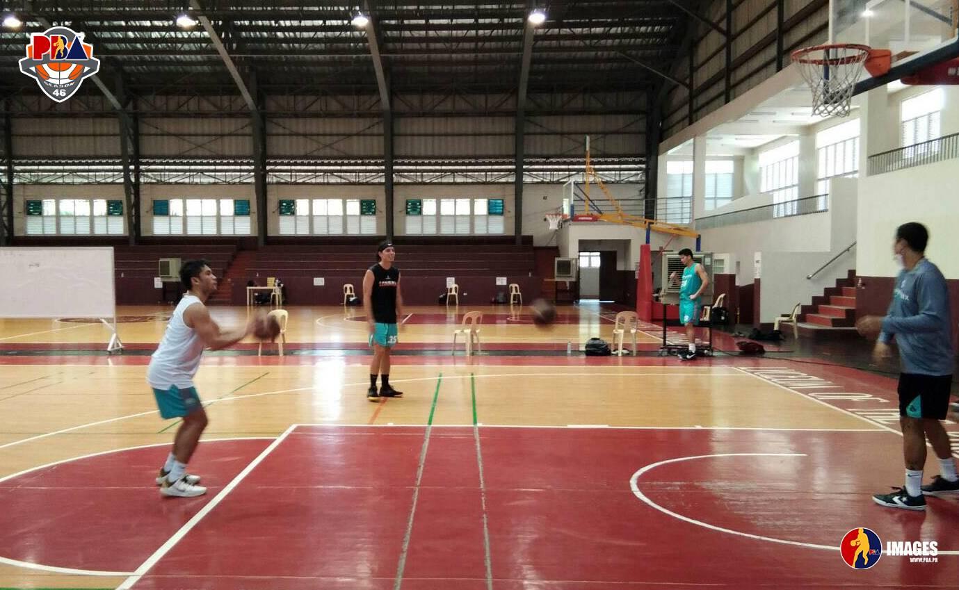 PBA-Season-46-Batangas-practice-Phoenix Alaska, Phoenix open new era in Batangas Basketball News PBA  - philippine sports news