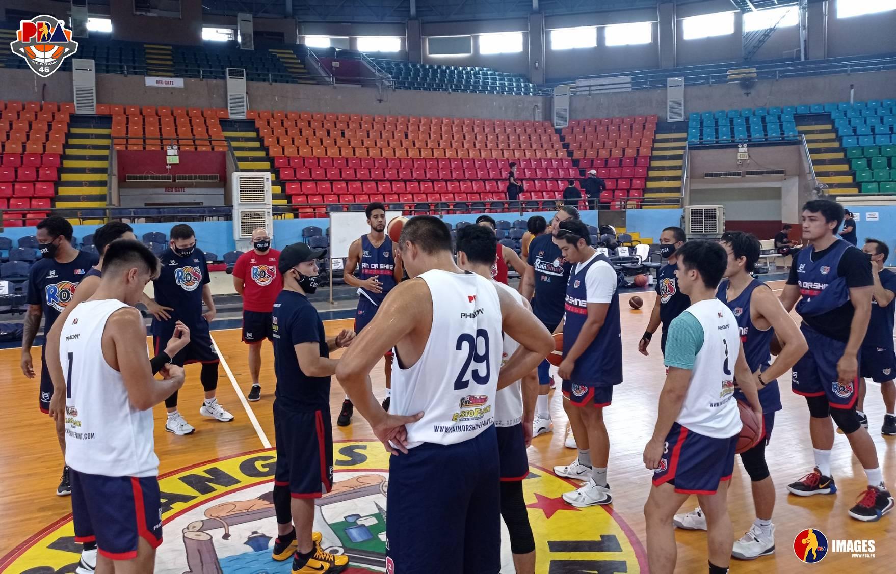 PBA-Season-46-Batangas-practice-Rain-or-Shine Alaska, Phoenix open new era in Batangas Basketball News PBA  - philippine sports news
