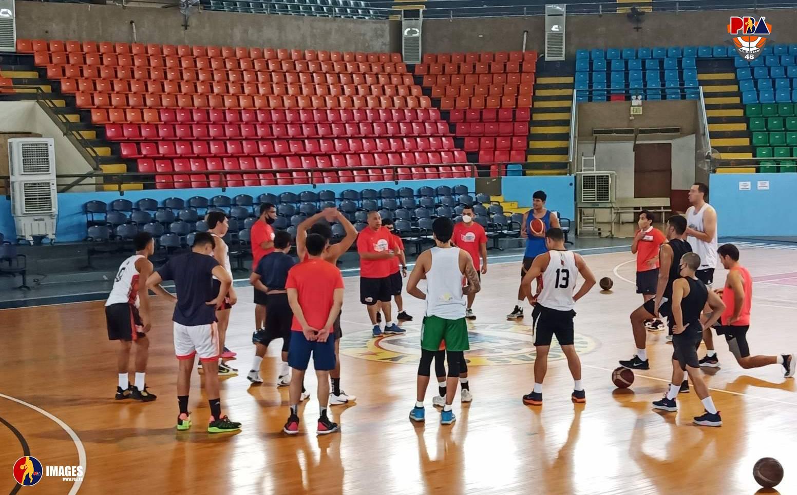 PBA-Season-46-Northport Eight PBA teams begin Batangas circuit training Basketball News PBA  - philippine sports news