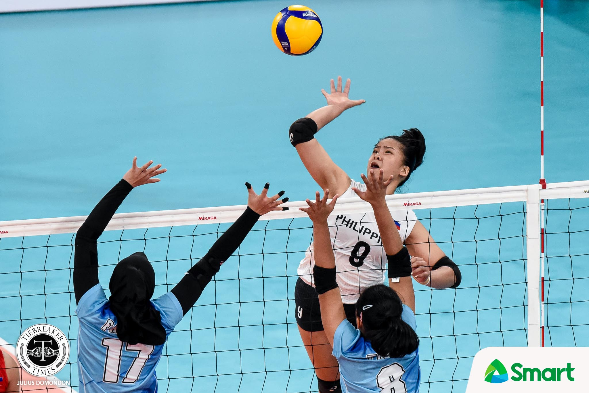 SEA-GAMES-2019-WVB-8TH-PHOTO-Eya-Laure Imee Hernandez looks to replicate magic with Eya Laure in NT 2021 SEA Games News Volleyball  - philippine sports news
