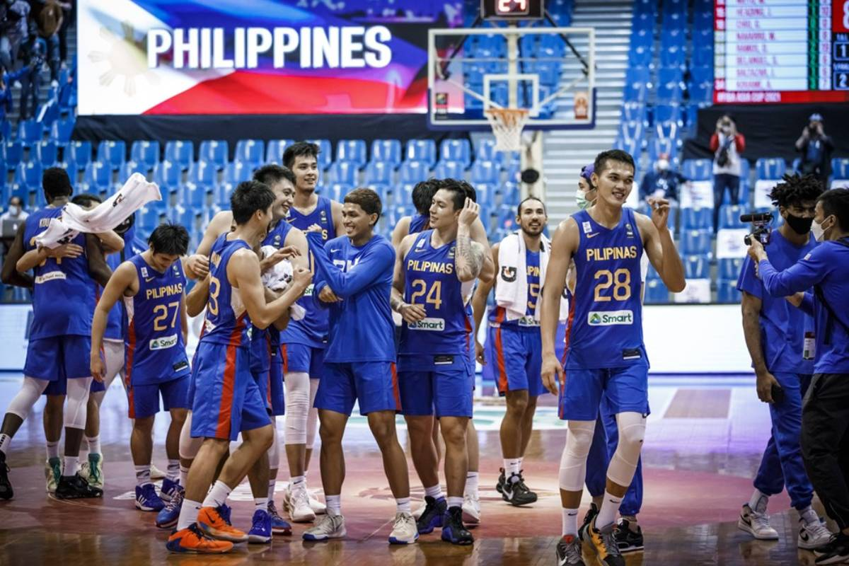 2021-FIBA-Asia-Cup-Qualifiers-Gilas-vs-Korea-Celebration What will be the status of 'overseas pros' in Gilas? 2023 FIBA World Cup Basketball Gilas Pilipinas News  - philippine sports news