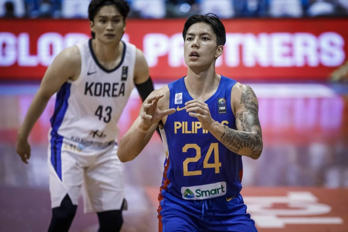 2021-FIBA-Asia-Cup-Qualifiers-Gilas-vs-Korea-Dwight-Ramos-3 Dwight Ramos can't wait to face other Filipino B.League imports Basketball News  - philippine sports news