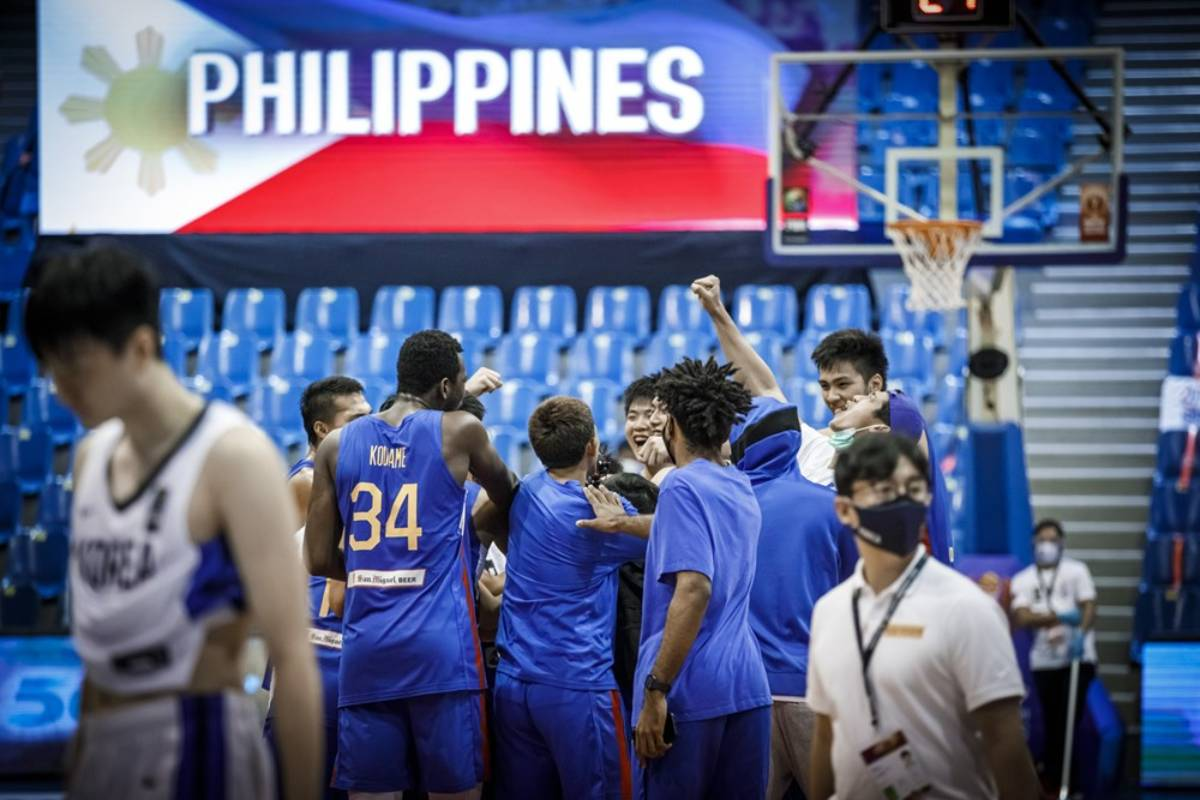 2021-FIBA-Asia-Cup-Qualifiers-Gilas-vs-Korea-Huddle Heading on Gilas return: 'There's nowhere else better to play basketball' 2021 FIBA Asia Cup Basketball Gilas Pilipinas News  - philippine sports news