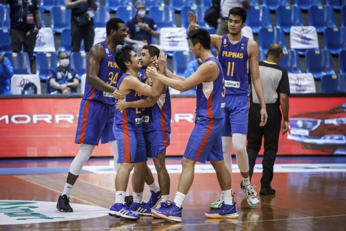 2021-fiba-asia-cup-qualifiers-gilas-def-korea-SJ-Belangel-and-RJ-Abarrientos Toroman not surprised that young Gilas were able to stun South Korea 2021 FIBA Asia Cup Basketball Gilas Pilipinas News  - philippine sports news