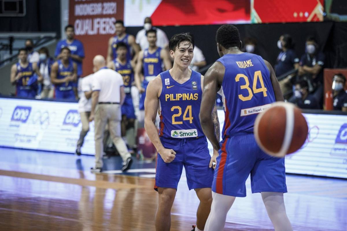 2021-fiba-asia-cup-qualifiers-gilas-def-korea-dwight-ramos Ramos explains decision to turn pro, remains committed to Gilas ADMU Basketball Gilas Pilipinas News UAAP  - philippine sports news