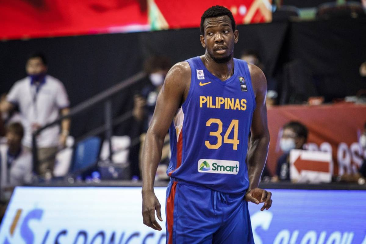 2021-fiba-asia-cup-qualifiers-gilas-vs-korea-Angelo-Kouame Baldwin pays tribute to current Gilas batch: 'Truly outstanding' Basketball Gilas Pilipinas News  - philippine sports news