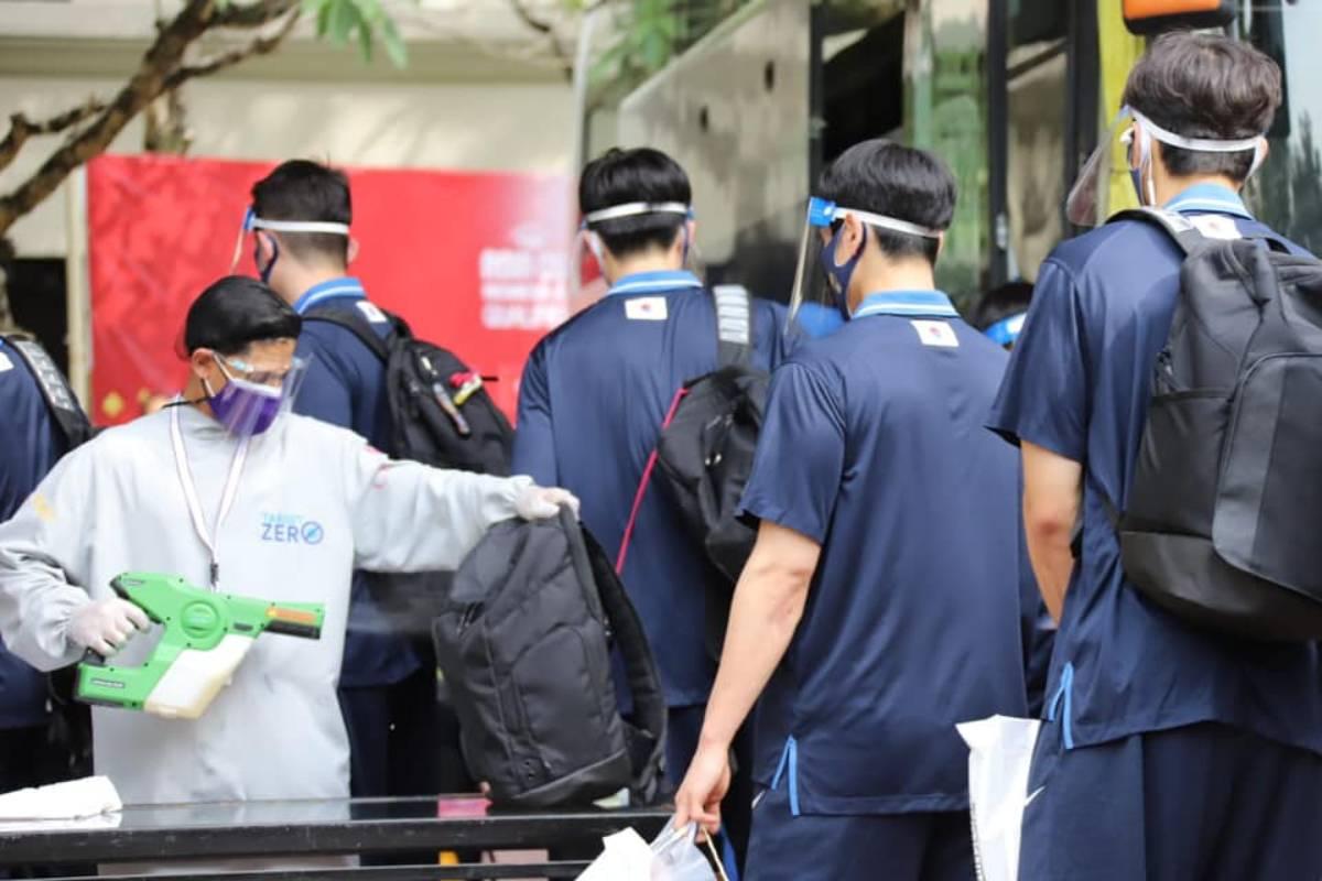 2021-fiba-asia-cup-qualifiers-korea-arrival Visitors laud SBP for successful hosting of FIBA Asia Cup Qualifiers 2021 FIBA Asia Cup Basketball Gilas Pilipinas News  - philippine sports news