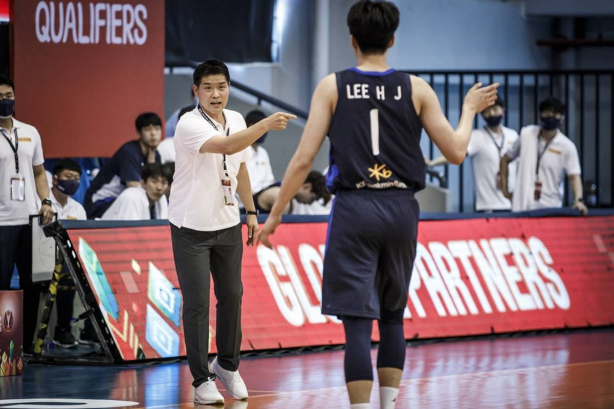 2021-fiba-asia-cup-qualifiers-korea-def-indonesia-cho-sanghyun-on-lee-hyunjung SBP excited to welcome KOR back, show PHL hospitality to NZL, IND Basketball Gilas Pilipinas News  - philippine sports news