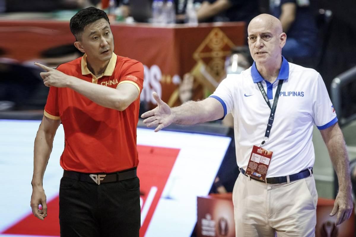 2021-fiba-oqt-china-vs-gilas-tuneup-du-feng-x-tab-baldwin Visitors laud SBP for successful hosting of FIBA Asia Cup Qualifiers 2021 FIBA Asia Cup Basketball Gilas Pilipinas News  - philippine sports news