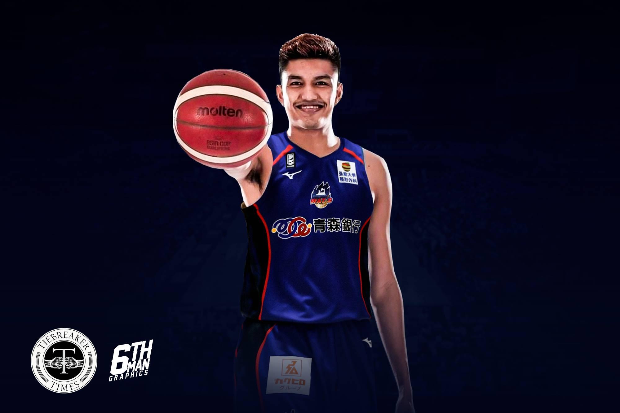 2021-22-B.League-Season-Aomori-Wats-Kemark-Carino San Beda's Roque understands Carino's decision to go to B.League Basketball NCAA News SBC  - philippine sports news