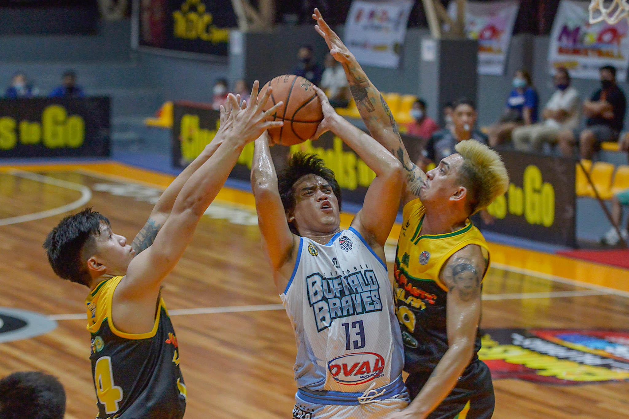 2021-Chooks-to-Go-VisMin-Kapatagan-vs-Basilan-Shaq-Alanes Basilan's Cabiltes shares secret to breaking VisMin, D-League records Basketball News VisMin Super Cup  - philippine sports news