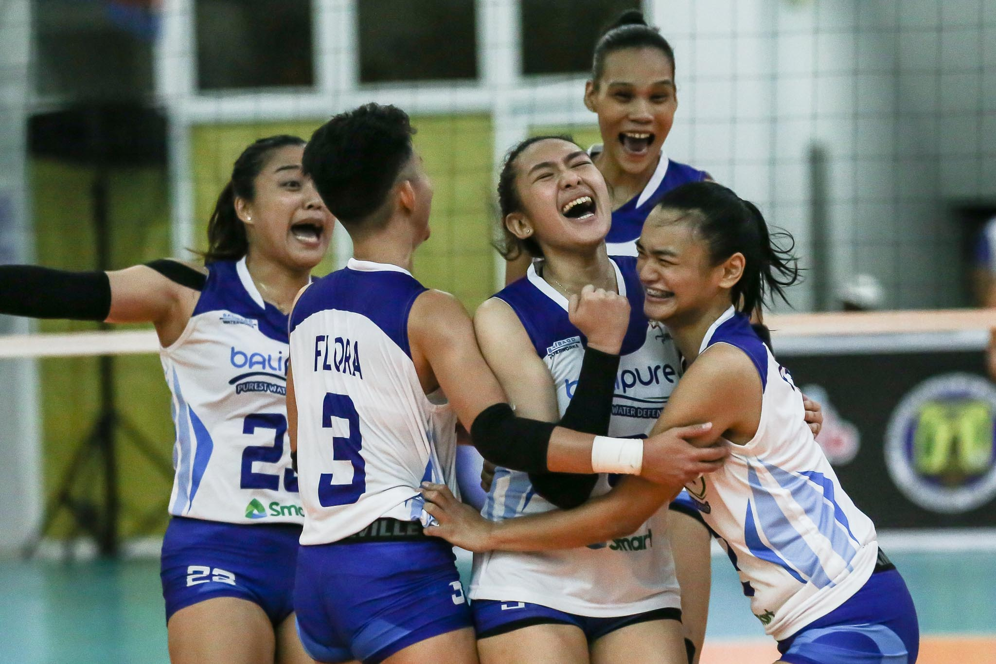 2021-PVL-Open-Cignal-vs-BaliPure-Gyra-Barroga-celebration Gyra Barroga's aces vs Cignal a product of off-season work with dad Edgar News PVL Volleyball  - philippine sports news