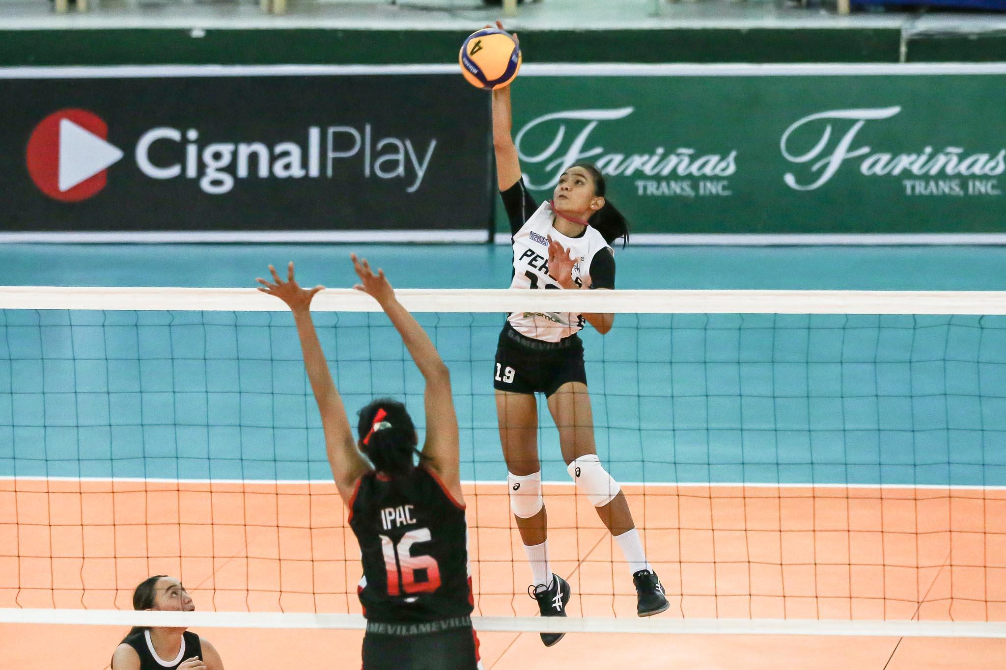 2021-PVL-Open-Cignal-vs-Perlas-Nicole-Tiamzon-1 Sacrifices all worth it for Perlas after breakthrough win, says Tiamzon News PVL Volleyball  - philippine sports news