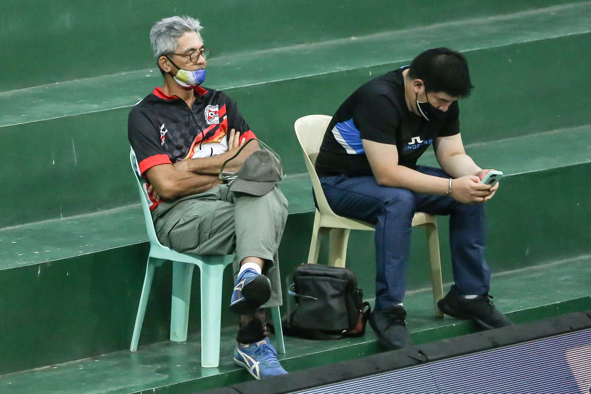 2021-PVL-Open-Conference-Choco-Mucho-vs-BaliPure-Fritz-Gaston Ponggay Gaston plays inspired volleyball as dad Fritz visits PVL bubble News PVL Volleyball  - philippine sports news