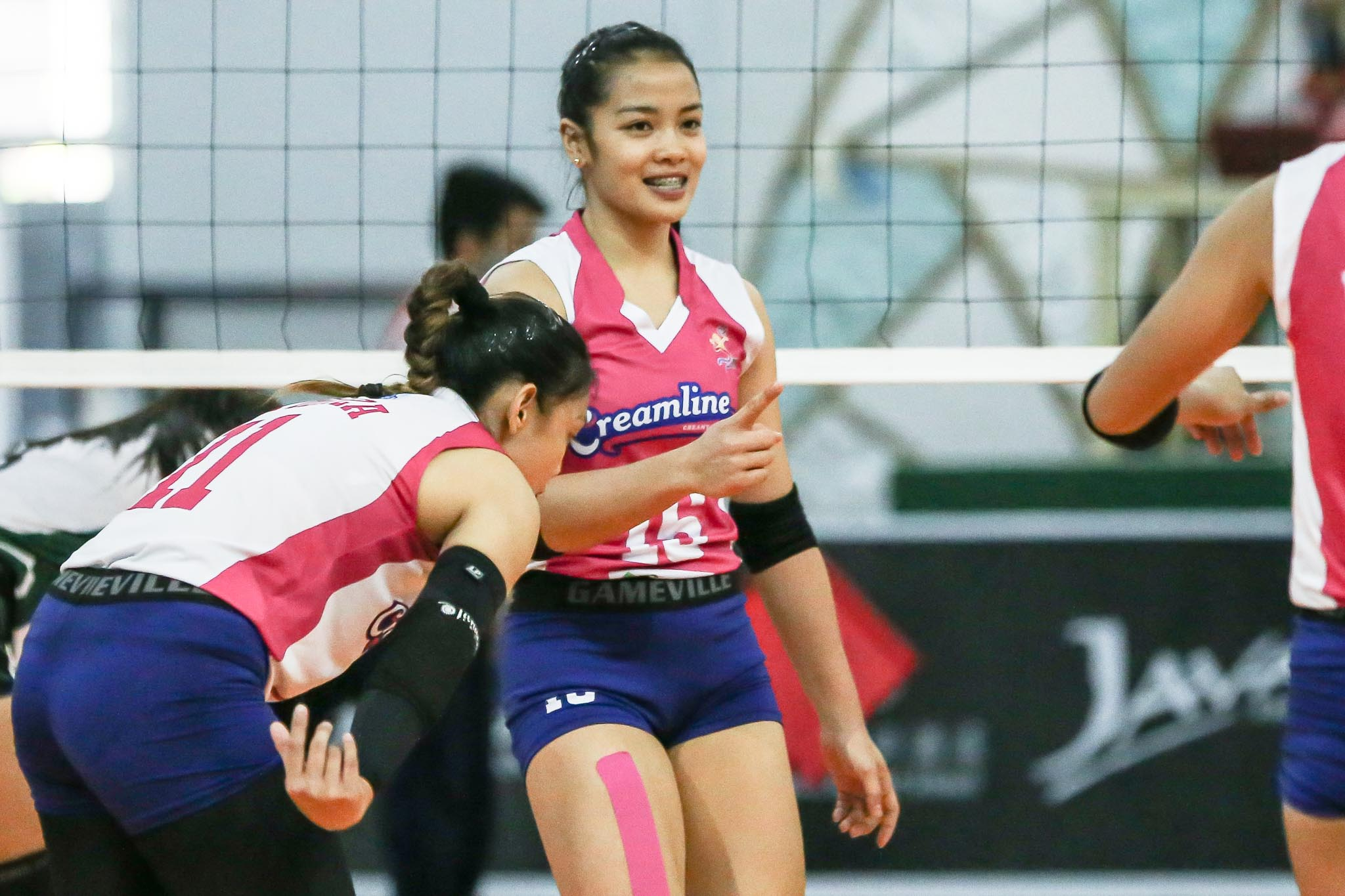 2021-PVL-Open-Creamline-vs-Army-Jema-Galanza-2 Galanza remains ready despite not being 100-percent News PVL Volleyball  - philippine sports news