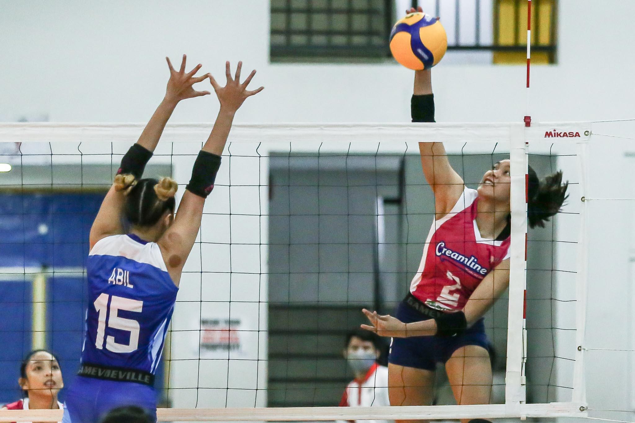 2021-PVL-Open-Creamline-vs-BaliPure-Alyssa-Valdez Alyssa Valdez knows BaliPure will come out better News PVL Volleyball  - philippine sports news