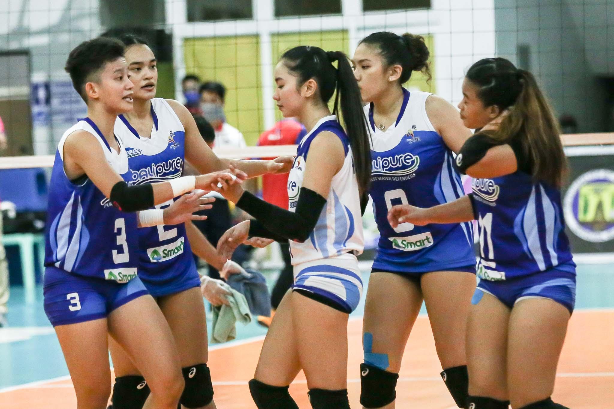 2021-PVL-Open-Creamline-vs-BaliPure-Balipure-team Alyssa Valdez knows BaliPure will come out better News PVL Volleyball  - philippine sports news
