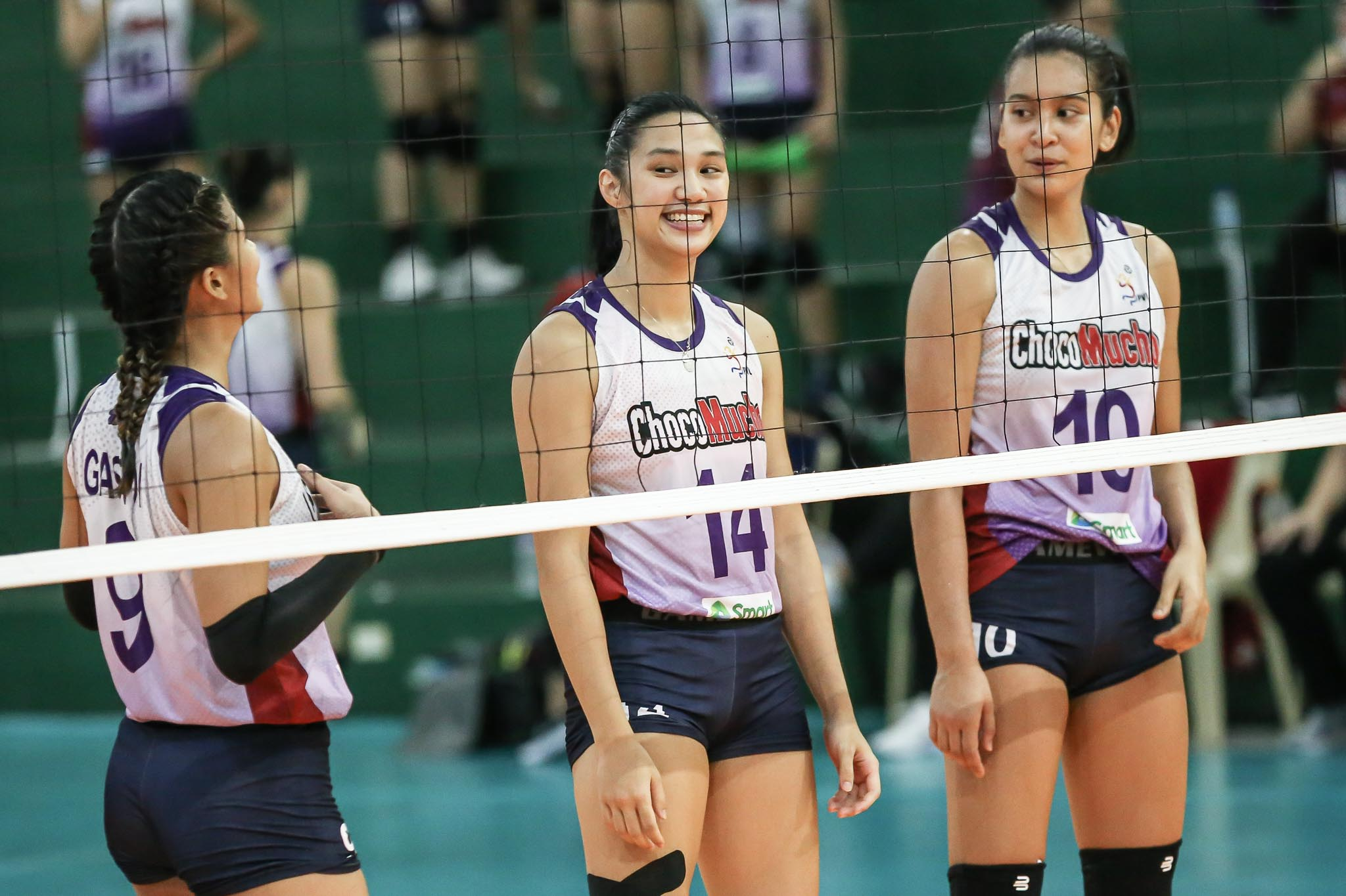 2021-PVL-Open-Perlas-vs-Choco-Mucho-Ponggay-Gaston-x-Bea-de-Leon-x-Kat-Tolentino Ponggay Gaston embraces role of 'Energizer Bunny' for Choco Mucho News PVL Volleyball  - philippine sports news