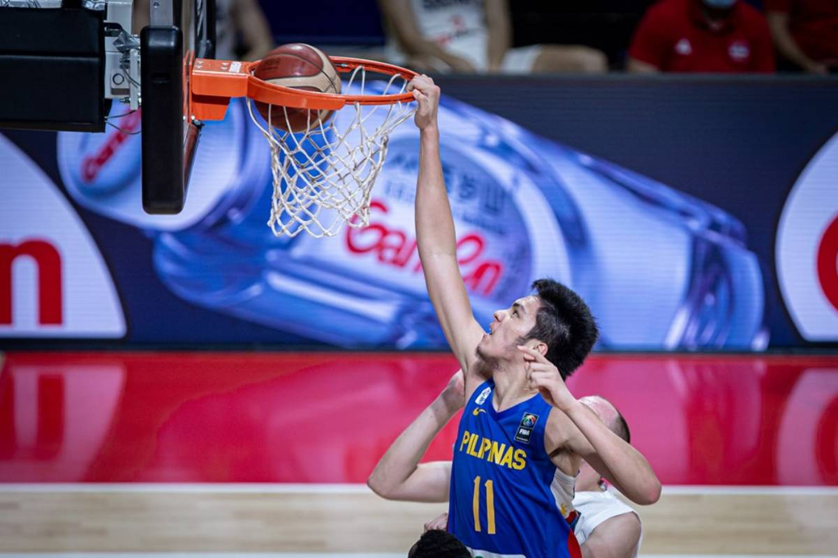 2021-fiba-oqt-belgrade-serbia-def-gilas-kai-sotto Kai Sotto on current Gilas: 'I believe in this team, I believe in the coaches' 2020 Tokyo Olympics Basketball Gilas Pilipinas News  - philippine sports news