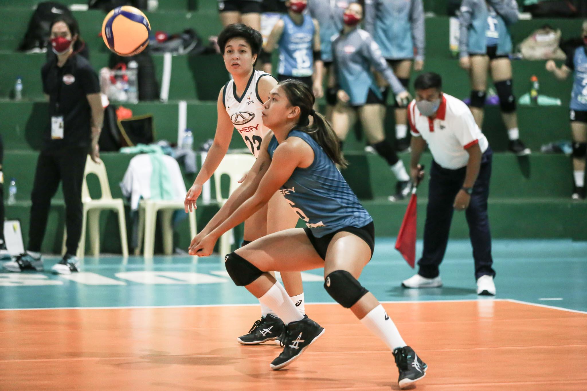 PVL-2021-Chery-Tiggo-vs-PLDT-Arianne-Layug-Chery Velez believes Dacoron, Nabor will be pivotal in Chery Tiggo's campaign News PVL Volleyball  - philippine sports news
