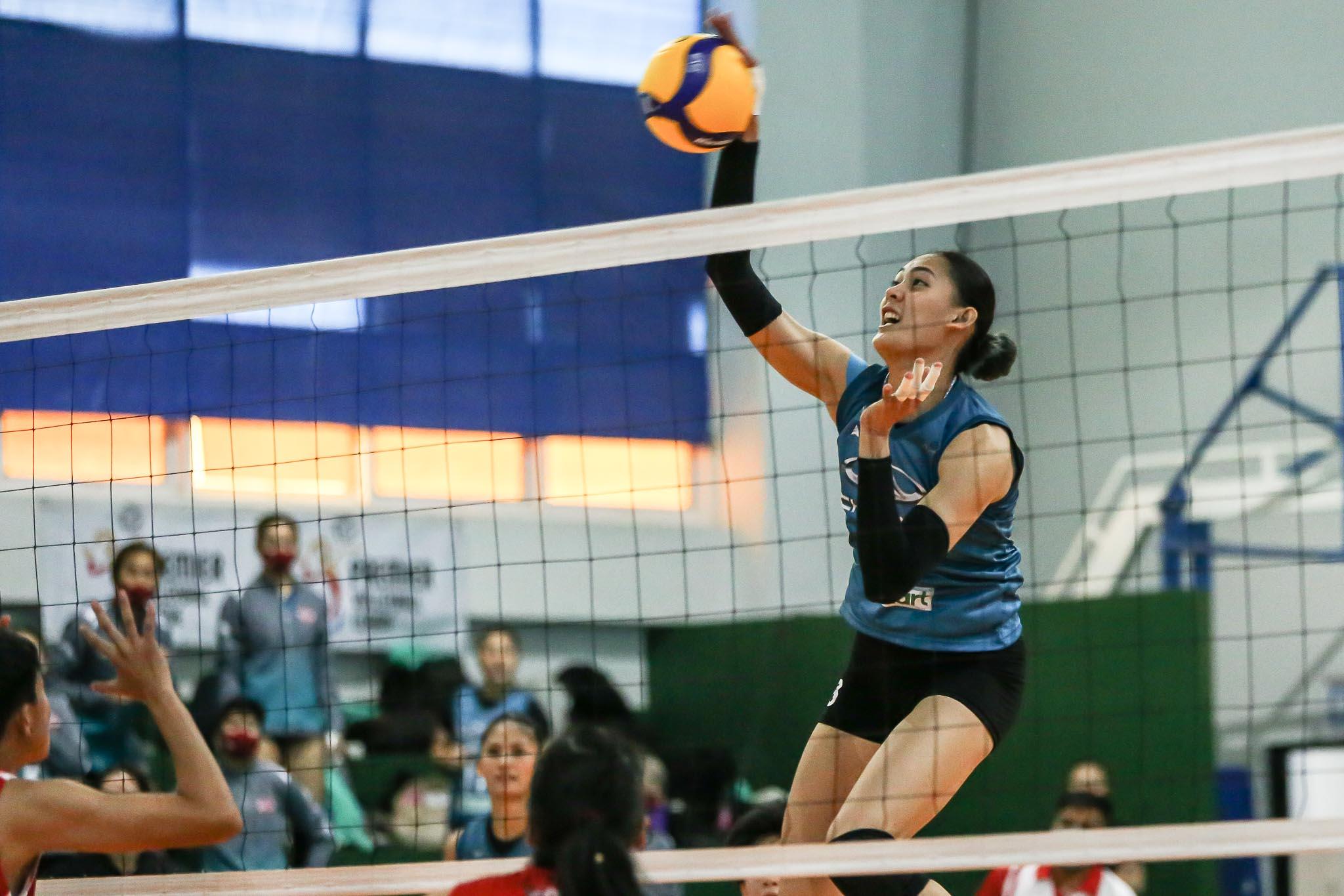 PVL-2021-Chery-Tiggo-vs-PLDT-Jaja-Santiago-Chery Jaja Santiago vows to find Ageo form for Chery Tiggo News PVL Volleyball  - philippine sports news