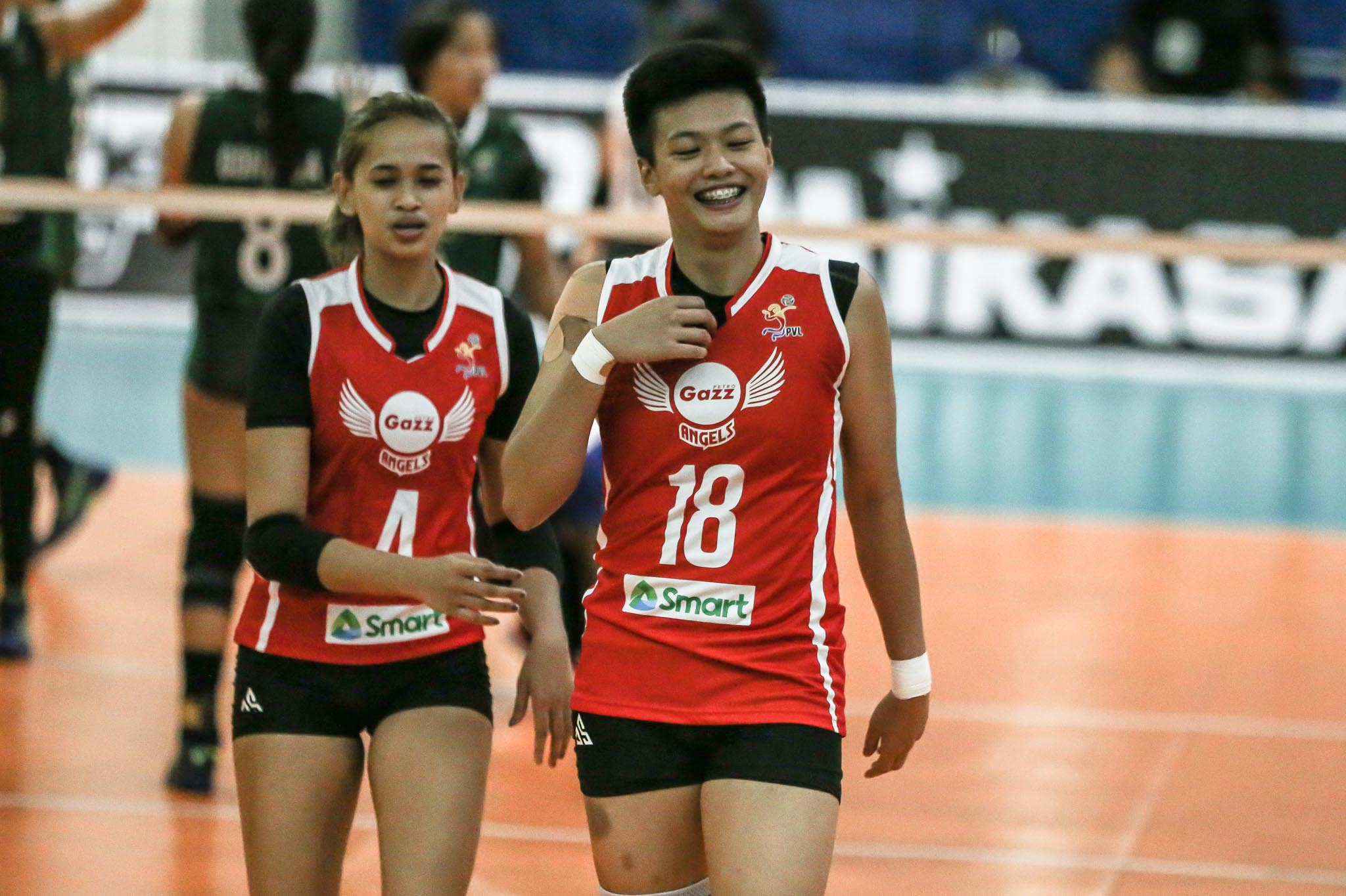 PVL-BUBBLE-2021-Petro-Gazz-vs-Army-Meneses-Petro-Gazz-2 Ria Meneses stayed composed amid delay: 'Ang tagal naming hinintay 'to' News PVL Volleyball  - philippine sports news