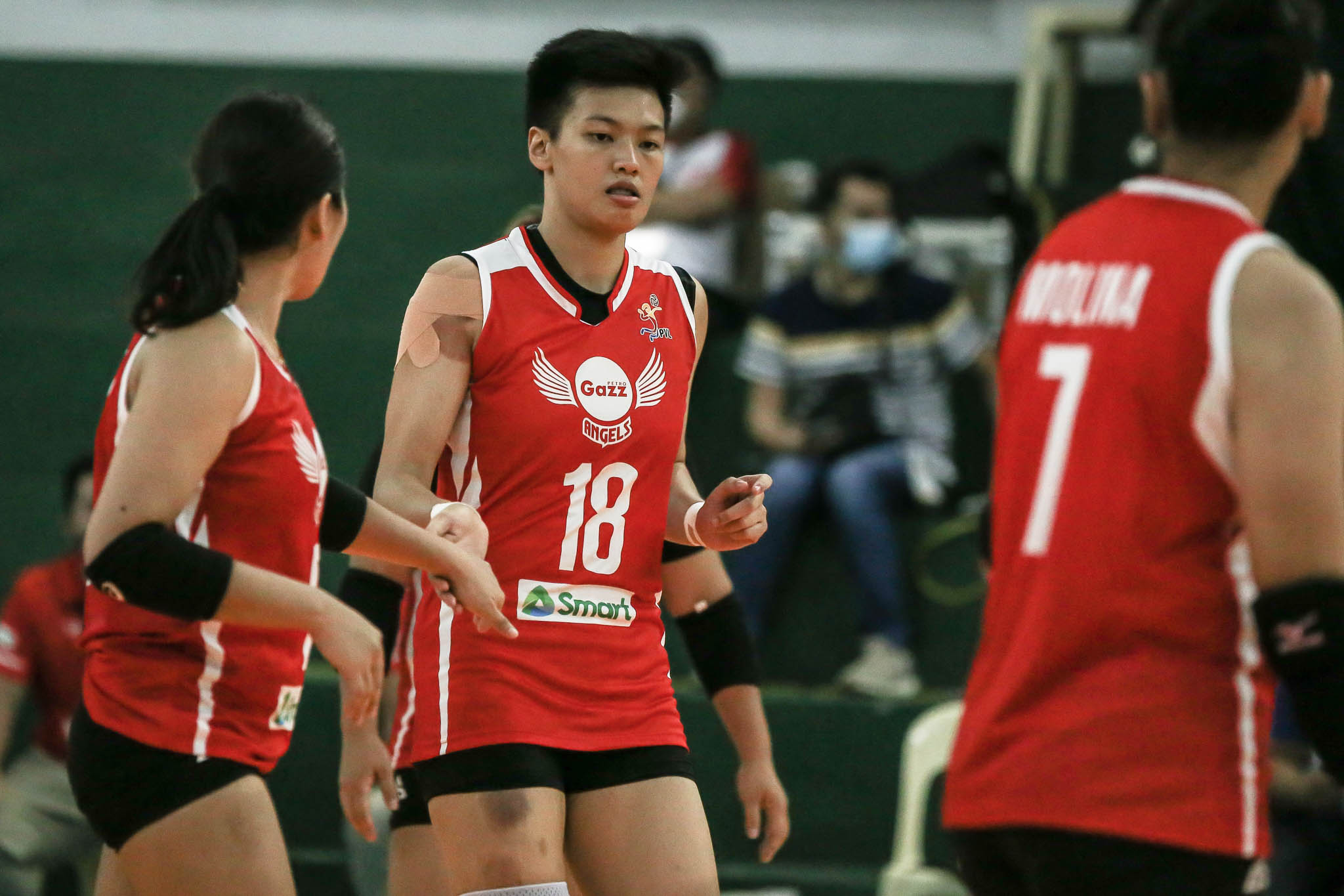 PVL-BUBBLE-2021-Petro-Gazz-vs-Army-Meneses-Petro-Gazz-3 Ria Meneses continues to set bar high for PVL middles News PVL Volleyball  - philippine sports news