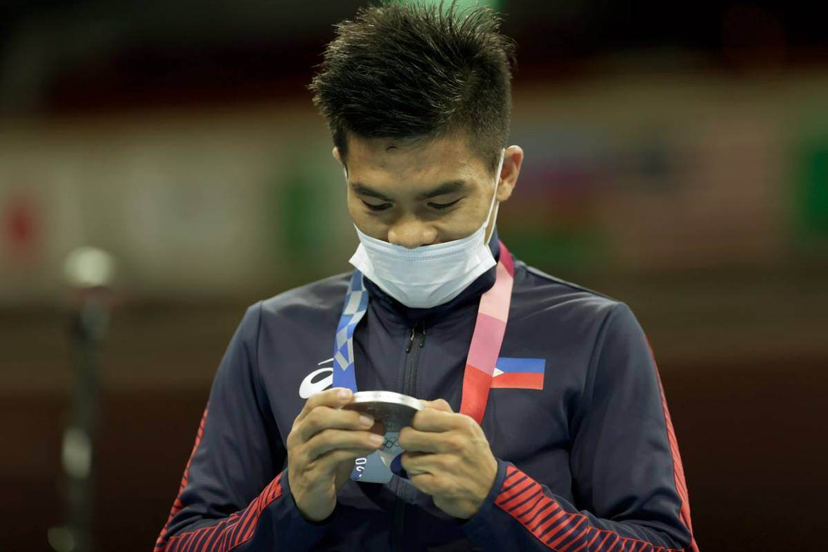2020-tokyo-olympics-boxing-carlo-paalam-silver Carlo Paalam forever grateful to 'second dad' Oscar Moreno 2020 Tokyo Olympics Boxing News  - philippine sports news
