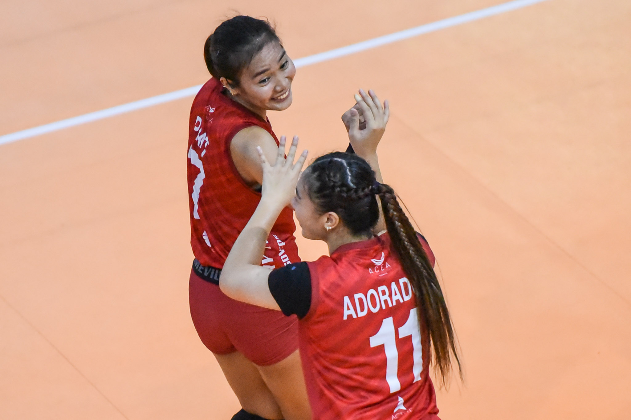 2021-PVL-Open-Chery-Tiggo-vs.-Army-Mylene-Paat-7183 Santiago, Paat welcome compressed PVL sched as they can join NT earlier News PVL Volleyball  - philippine sports news