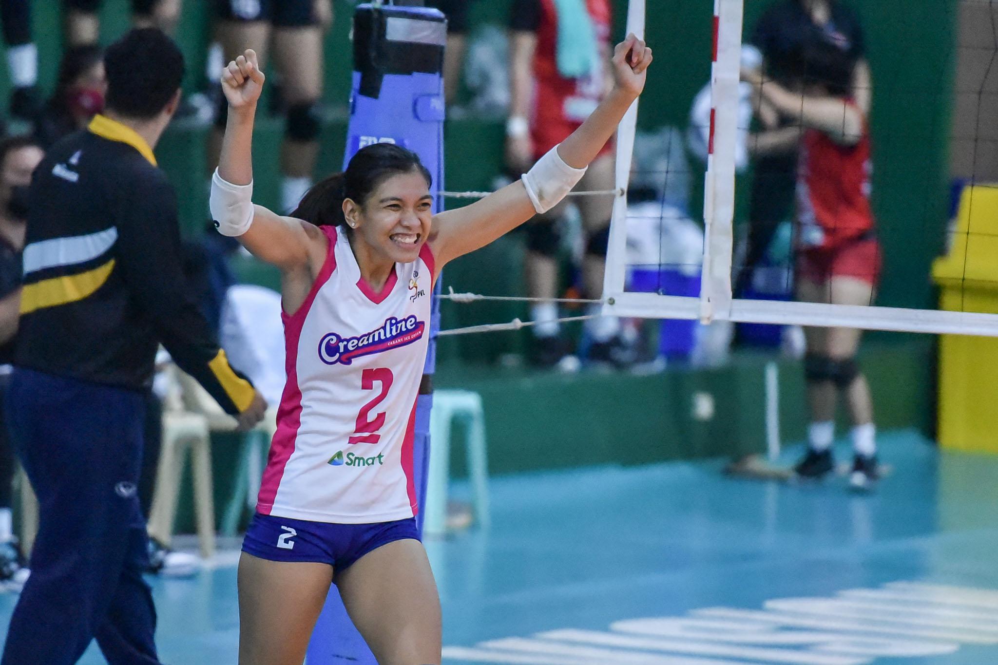 2021-PVL-Open-Chery-Tiggo-vs.-Creamline-Finals-G1-Alyssa-Valdez-5284 Souza de Brito explains decision to not include Valdez, Morado in pool News Volleyball  - philippine sports news