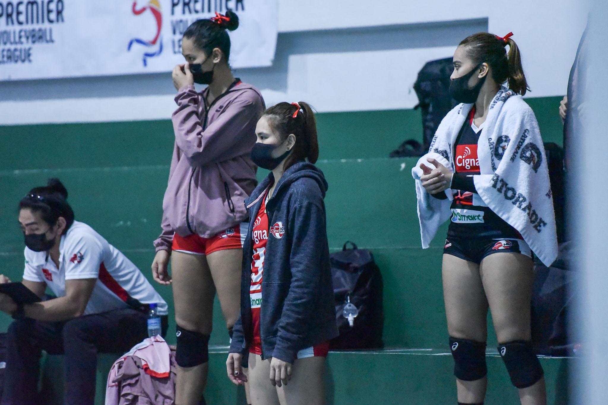 2021-PVL-Open-Cignal-vs.-Creamline-Rachel-Anne-Daquis-5649 Creamline scores hard fought sweep of Cignal for bounce back PVL win News PVL Volleyball  - philippine sports news