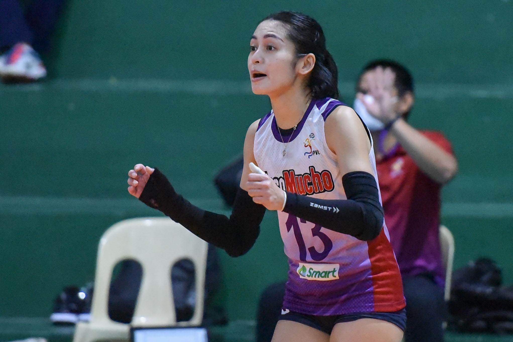 2021-PVL-Open-Creamline-vs.-Choco-Mucho-Denden-Lazaro-Revilla-7678 Valdez glad to be on the same court with Lazaro once more News PVL Volleyball  - philippine sports news