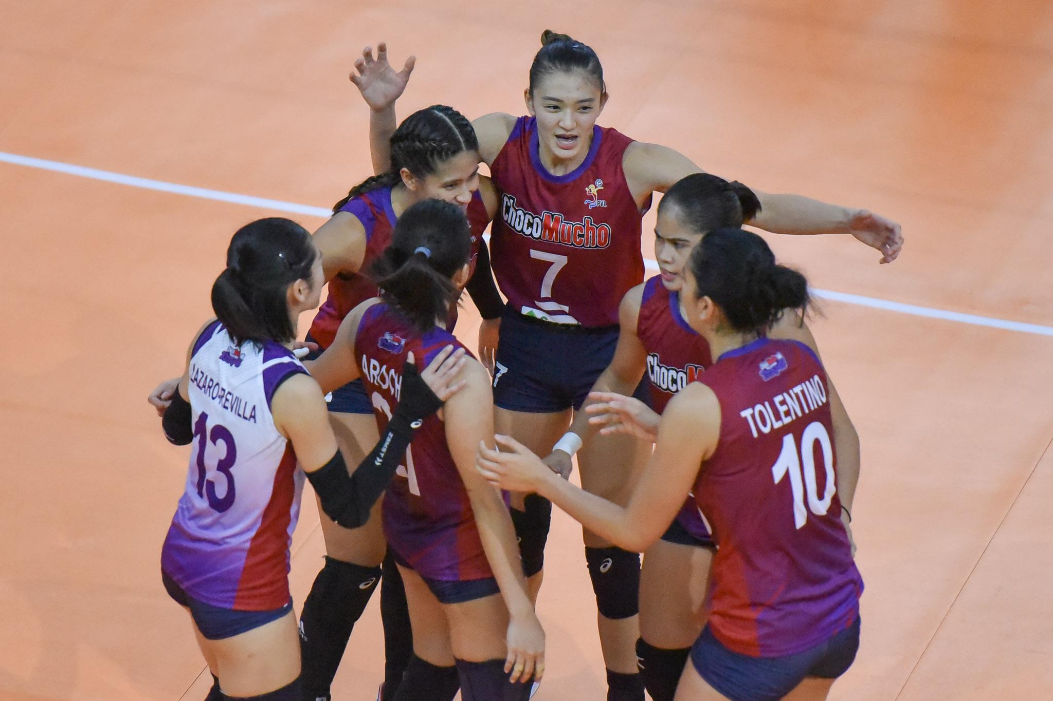2021-PVL-Open-Creamline-vs.-Choco-Mucho-Maddie-Madayag-7530 Almadro says Choco Mucho lacked 'maturity' in Creamline loss News PVL Volleyball  - philippine sports news