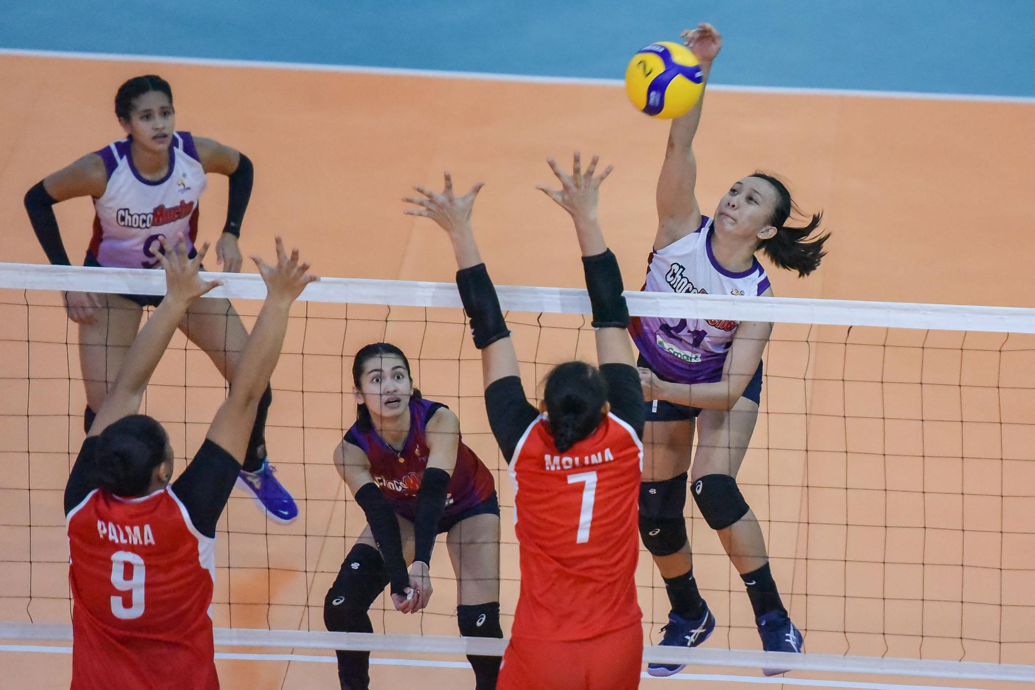 2021-PVL-Open-Petrogazz-vs.-Choco-Mucho-Regine-Arocha-9661 Arocha admits struggles in adjusting to Choco Mucho News PVL Volleyball  - philippine sports news