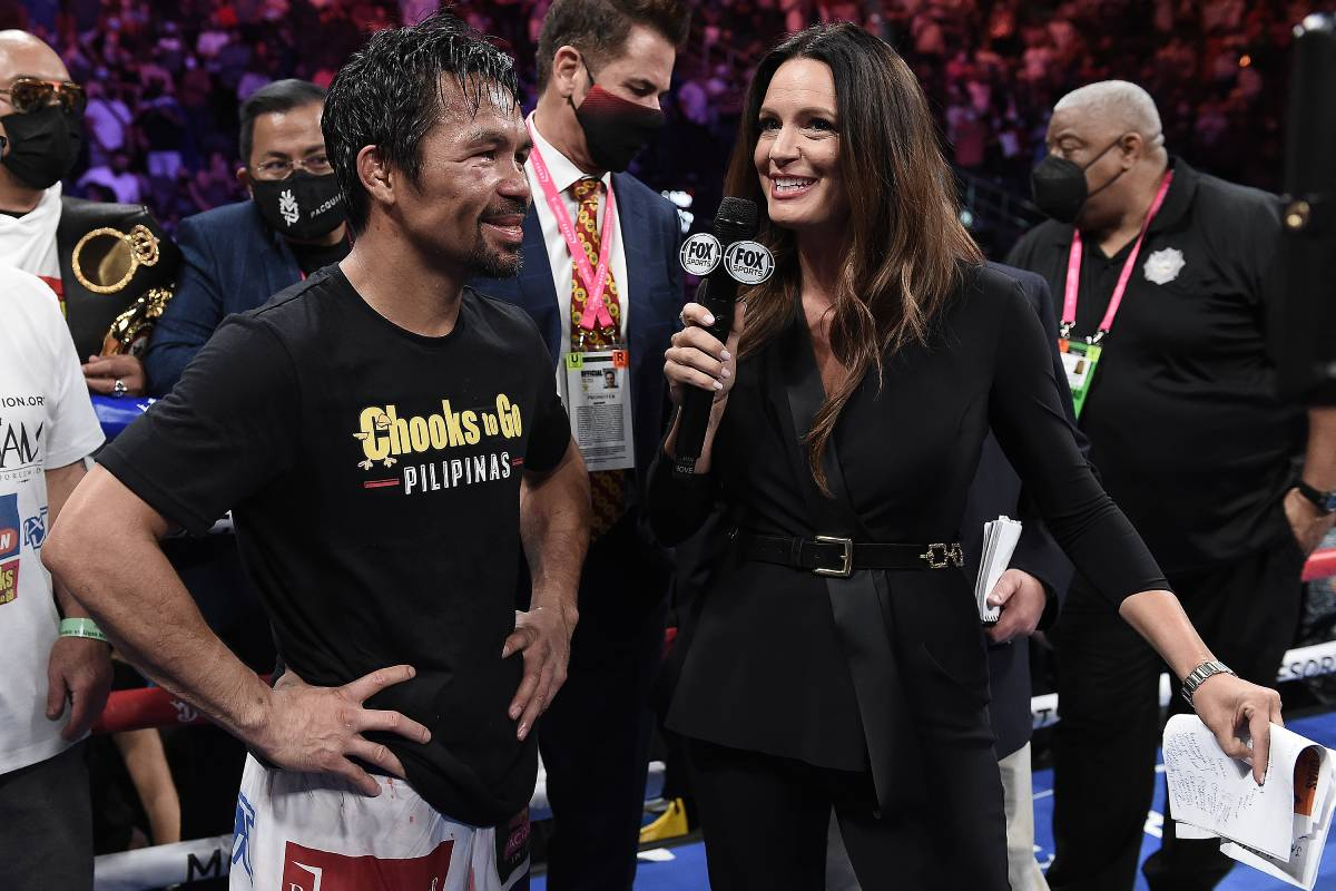 Manny-Pacquiao-vs-Yordenis-Ugas-post-fight Pacquiao accepts PDP-Laban nomination to run for president Boxing News  - philippine sports news