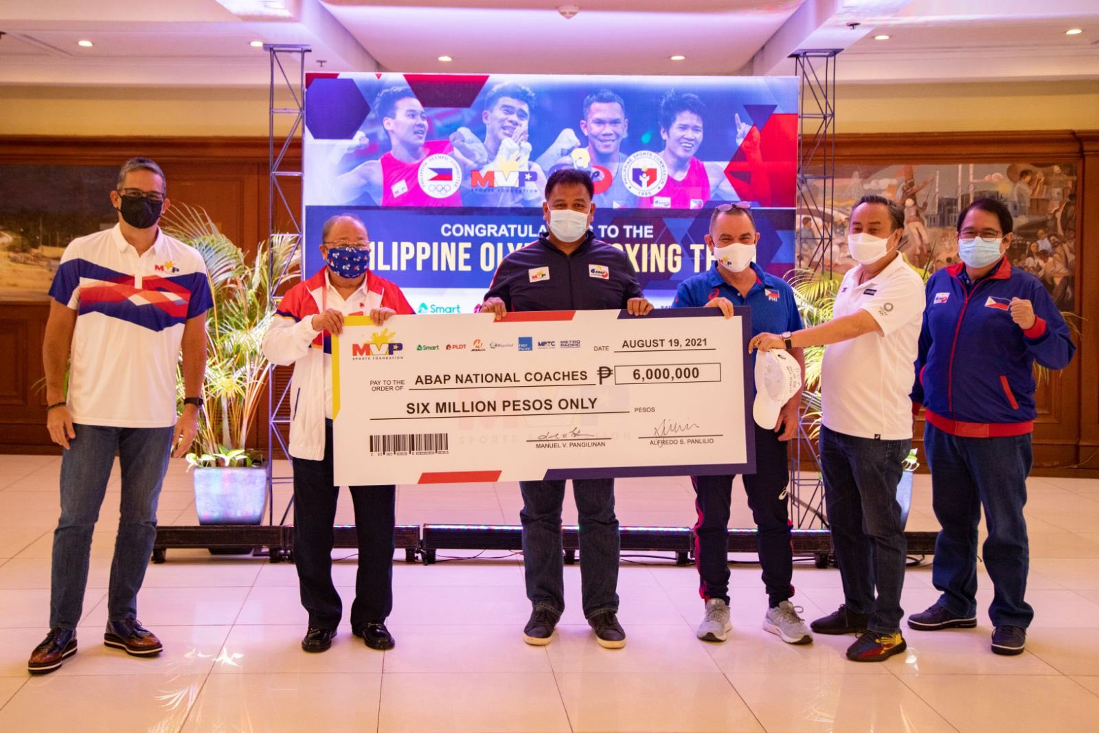 Tokyo-2020-MVPSF-ABAP-Coaches MVPSF rewards ABAP boxers for historic Tokyo campaign 2020 Tokyo Olympics Boxing News  - philippine sports news