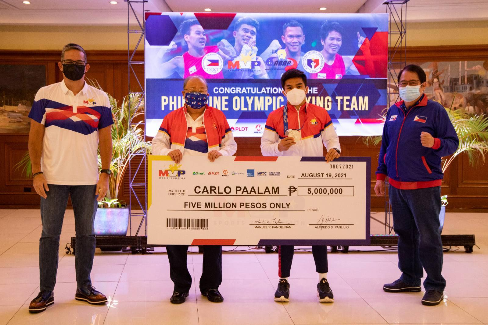 Tokyo-2020-MVPSF-Carlo-Paalam MVPSF rewards ABAP boxers for historic Tokyo campaign 2020 Tokyo Olympics Boxing News  - philippine sports news