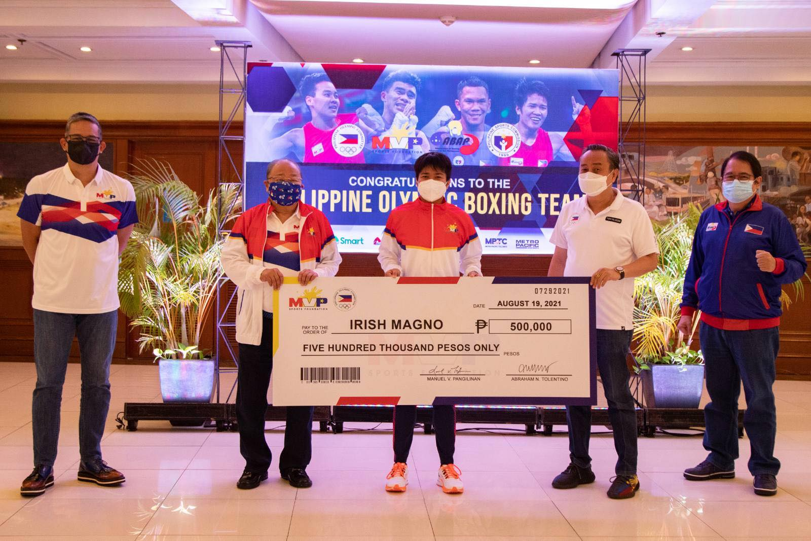 Tokyo-2020-MVPSF-Irish-Magno MVPSF rewards ABAP boxers for historic Tokyo campaign 2020 Tokyo Olympics Boxing News  - philippine sports news