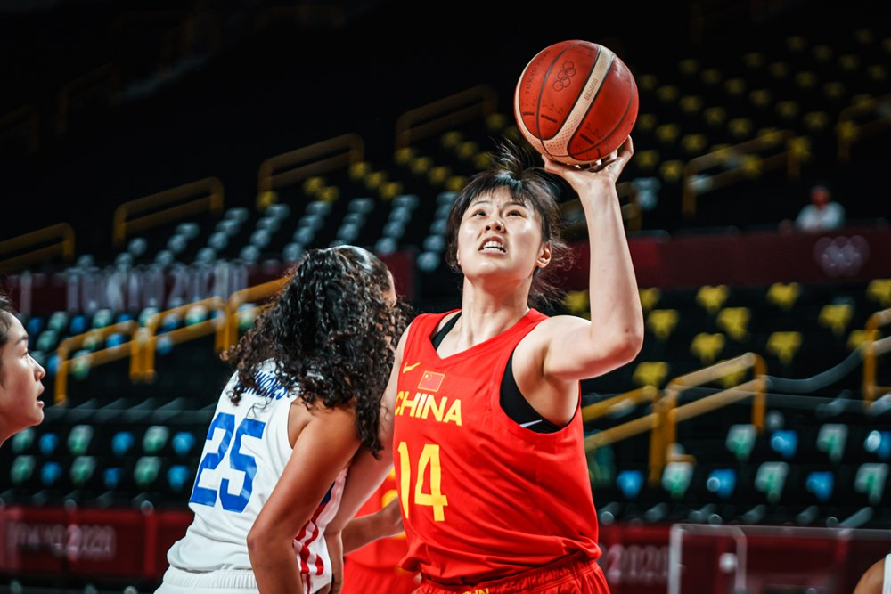 2020-Tokyo-Olympics-China-Li-Yueru Midlife Halftime: Gilas Women finds itself in land of the giants Bandwagon Wire Basketball Gilas Pilipinas  - philippine sports news
