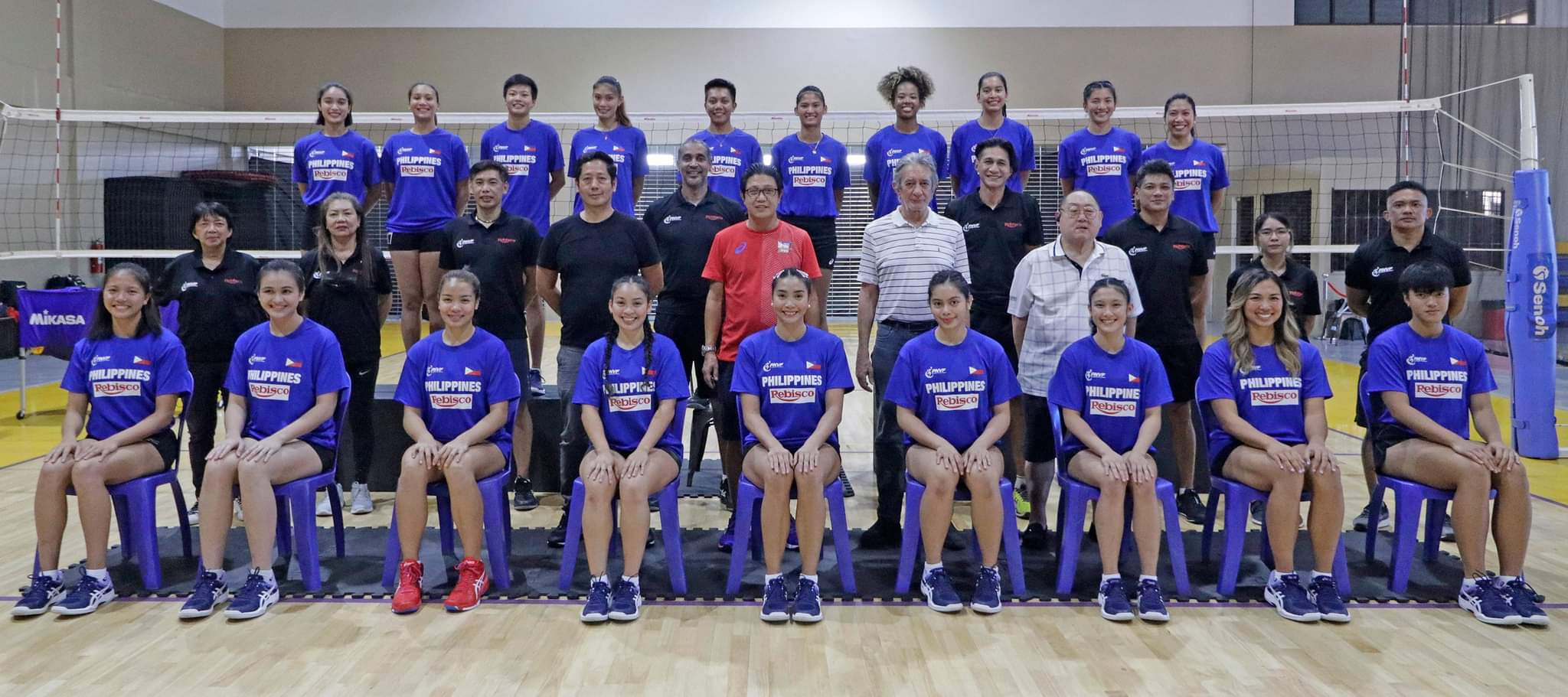 2021-AVC-Womens-Club-Championship-Rebisco-vs-Choco-Mucho-1 Marano, De Guzman captain Rebisco PH as Tolenada skippers Choco Mucho in AVC Club News Volleyball  - philippine sports news