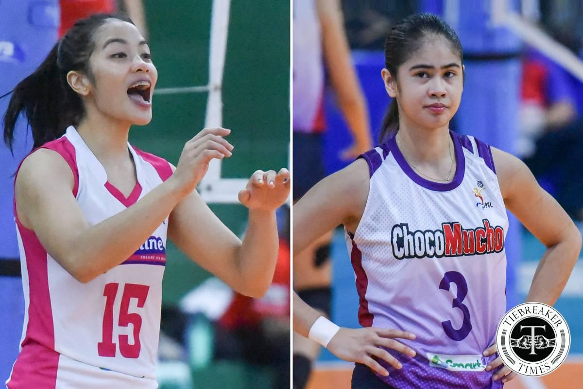 2021-AVC-Womens-Club-Rebisco-vs-Choco-Mucho-Galanza-vs-Wong Marano, De Guzman captain Rebisco PH as Tolenada skippers Choco Mucho in AVC Club News Volleyball  - philippine sports news