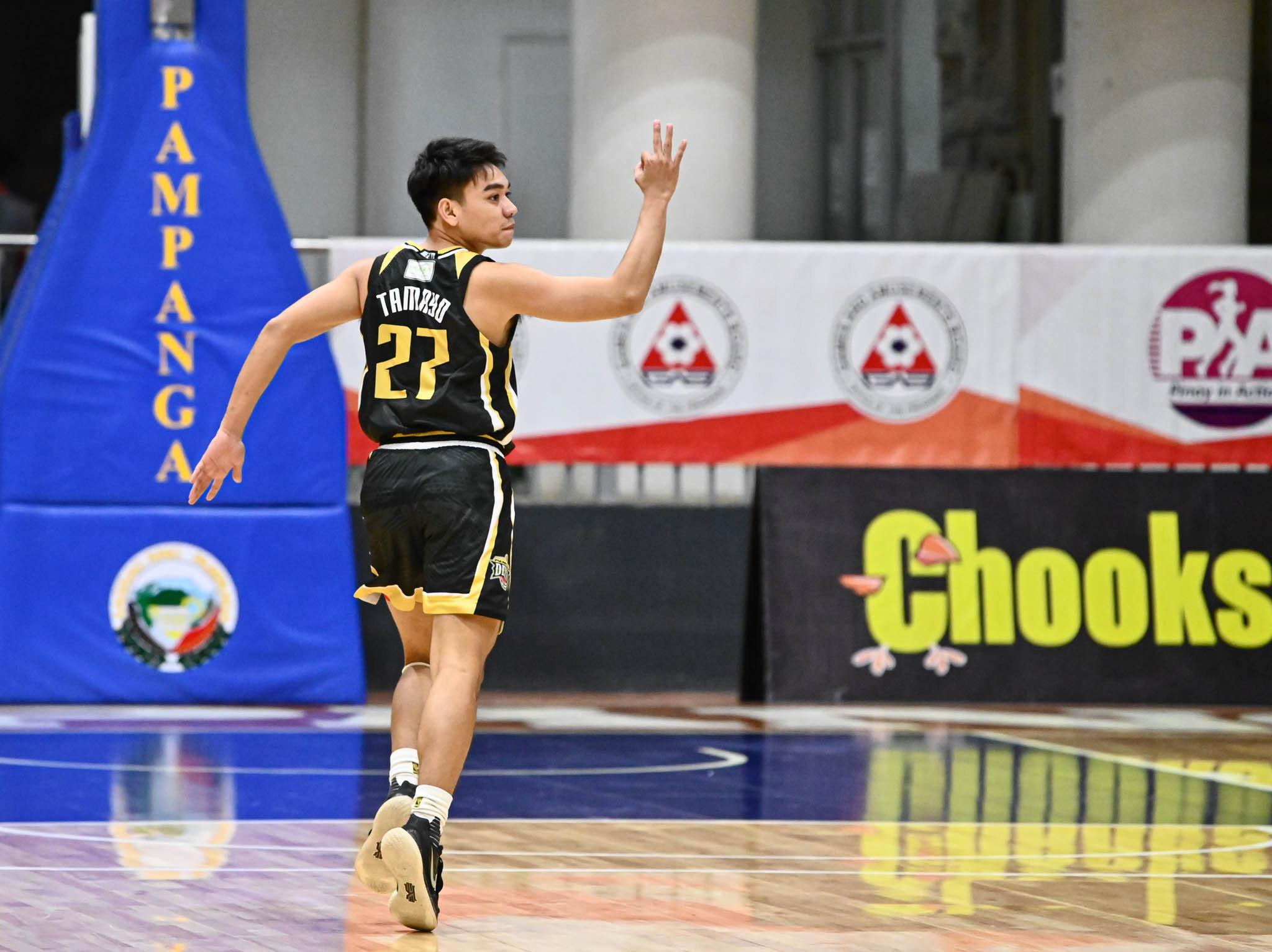 2021-Chooks-NBL-Bulacan-vs-Pampanga-Mark-Tamayo Mark Tamayo's halfcourt prayer does not count as Bulacan stuns Pampanga in NBL Basketball NBL News  - philippine sports news