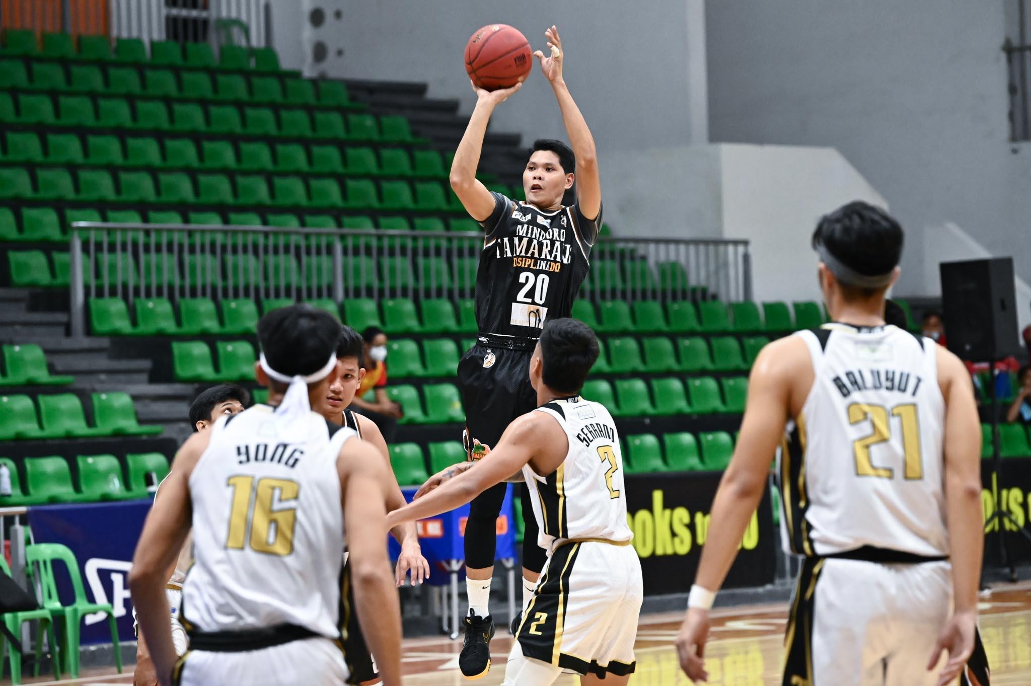 2021-Chooks-NBL-Pampanga-vs-Mindoro-RODEL-VAYGAN Serrano shines as Pampanga dehorns Mindoro to open NBL back-to-back bid Basketball NBL News  - philippine sports news