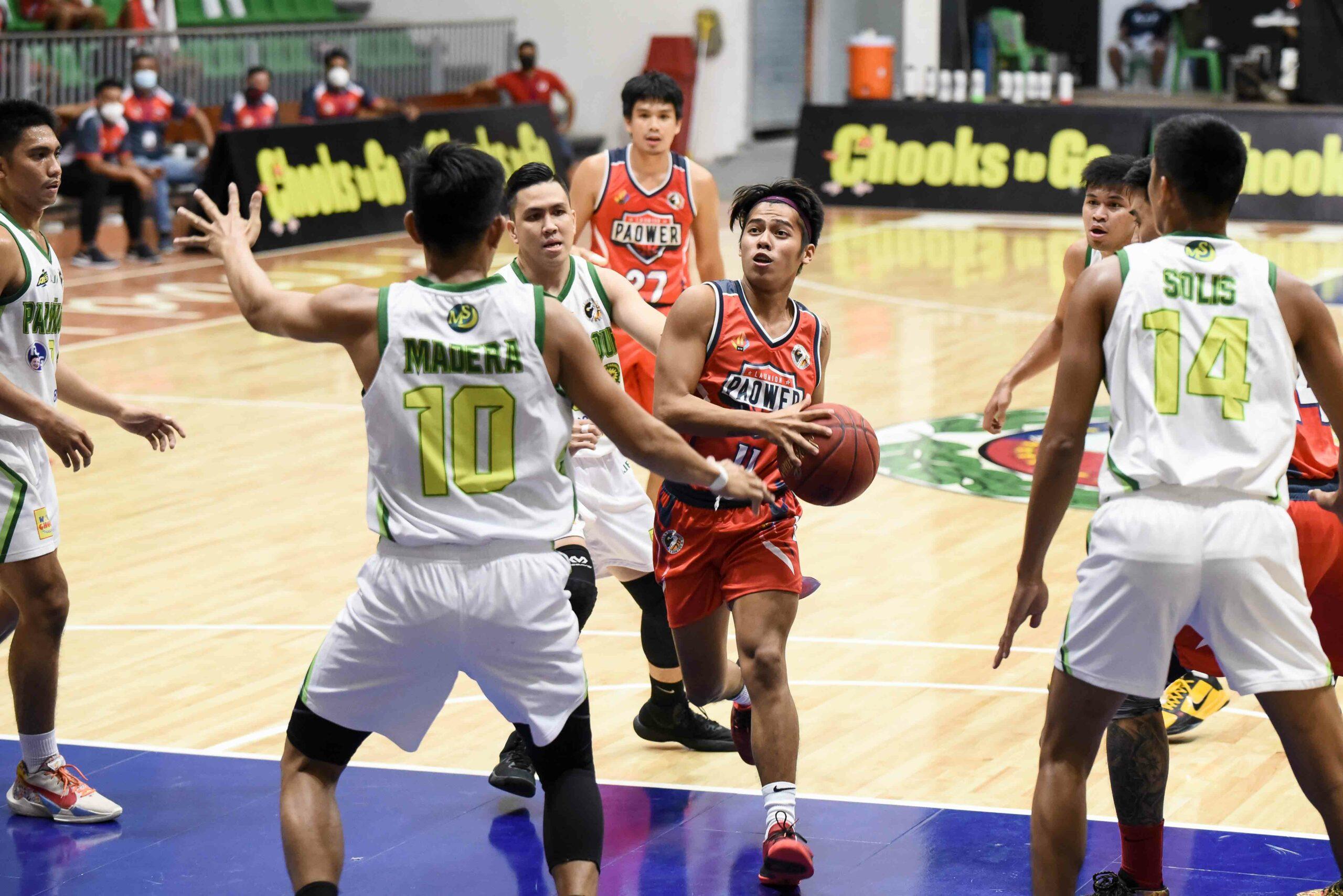 2021-Chooks-NBL-Paranaque-vs-La-Union-Kirk-Agulan-La-Union-scaled Apolonio, Agulan link up as La Union edges Paranaque for share of NBL lead Basketball NBL News  - philippine sports news